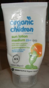 Green People sunscreen