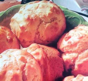 Onion muffins