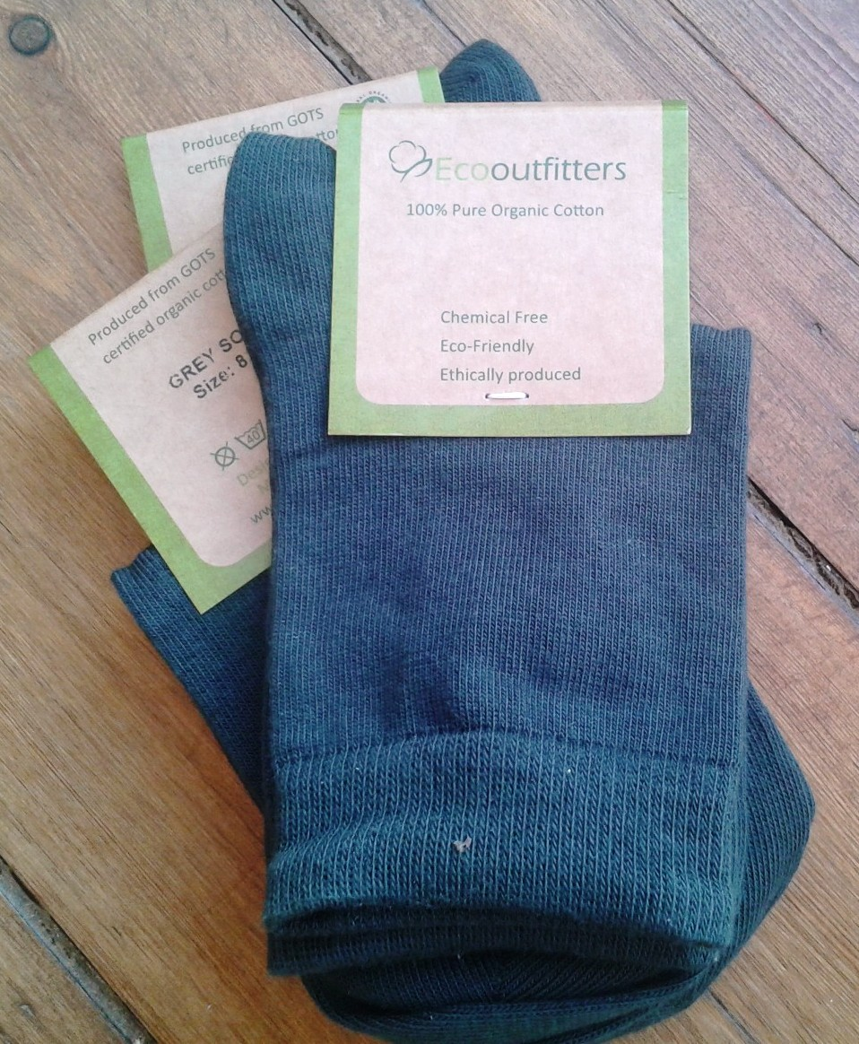 100% organic cotton socks for school: perfect for eczema